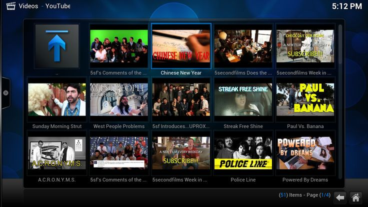 xbmc player: How to set it up