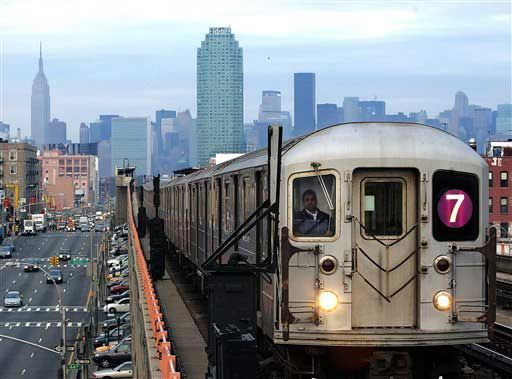 The #7 Train - I traveled it for years & it was a drudge. Local all the way, most times.