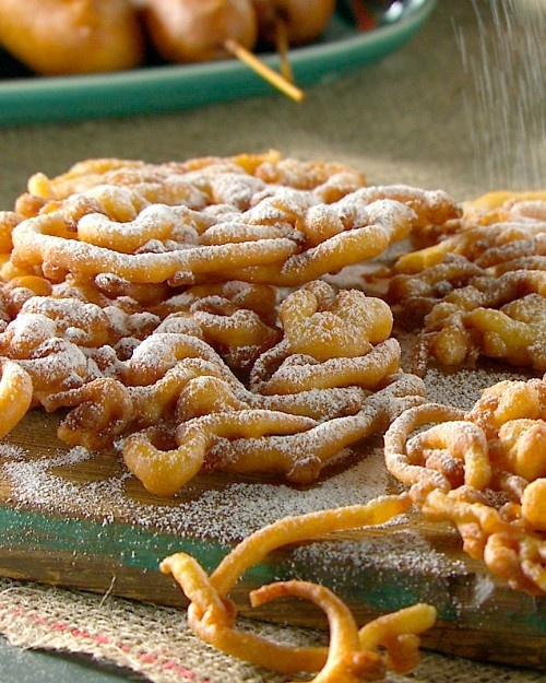 Funnel cakes and Cakes on Pinterest