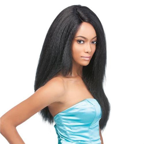 新しい焼きアフリカ系アメリカ人フル人工毛かつら最高のグルーレス変態ストレート高温ワイヤー女性かつら黒人女性