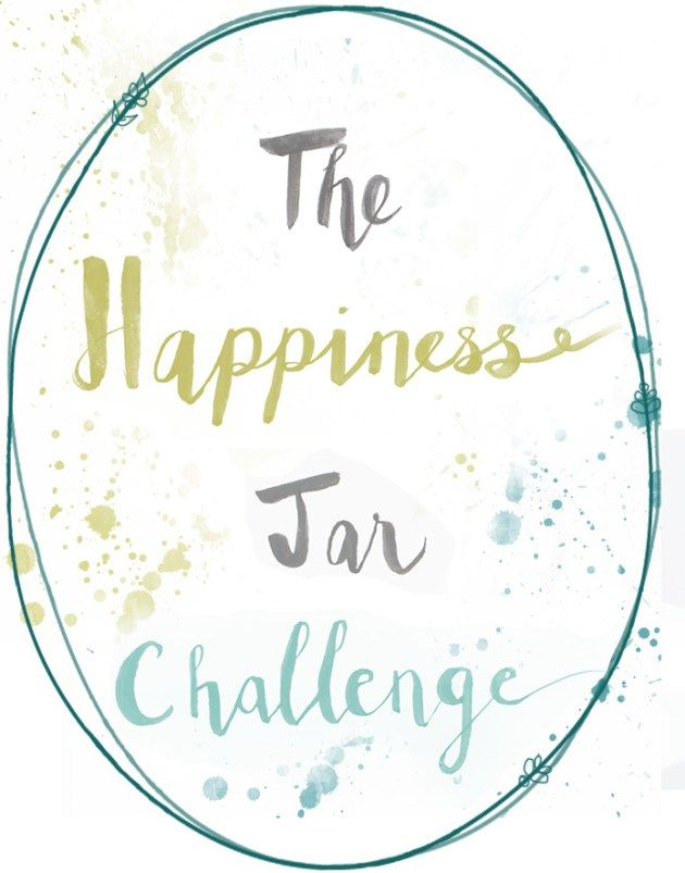 The Happiness Jar Challenge: One Month to A Truer Happiness from The House of Muses | intentional living