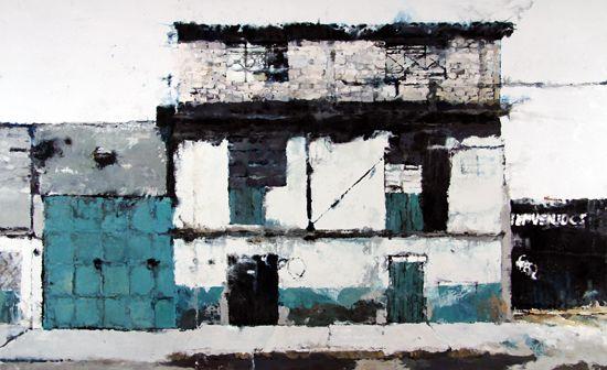 Galerie Daniel Templon - Artist-Philippe Cognée Sao Paulo 2012