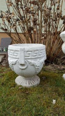 Pflanzamphore Pflanzkübel Steinguss im Römisch griechisch Design in Bayern - Lohr (Main)   eBay Kleinanzeigen