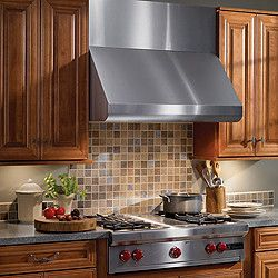 Broan E6030SS Pro-Style Wall-Mount Canopy Range Hood with Internal Blower, Variable Speed Control, Heat Sentry, Dishwasher-Safe Baffle Filters and Convertible to Non-Ducted Operation: 30 Inch Stainless Steel/600 CFM