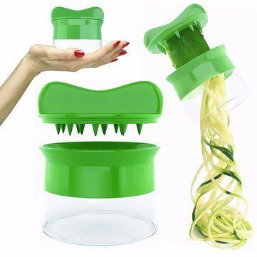 #Banggood Карманное растительное слайсер фрукты Овощечистка резак Twister инструменты измельчитель терка лапшерезок кухонные (1094662) #SuperDeals