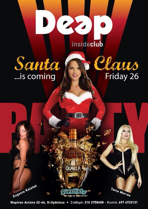 Santa Claus ..is Coming #Party #Olmeca #DeepInsideClub