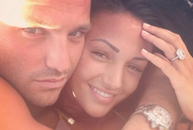 Michelle Keegan and Mark Wright.   25 Celebrity Couples Who Restored Your Faith In Love In 2013