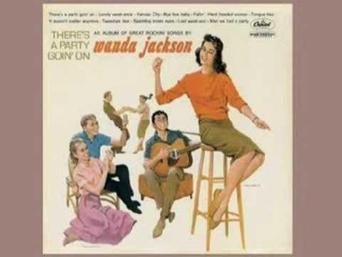 4 Rockabilly PARTY songs - Wanda Jackson plus
