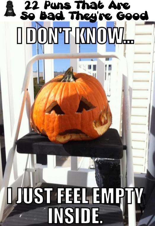Halloween Humor: Puns That Are So Bad, Theyu0027re Good!