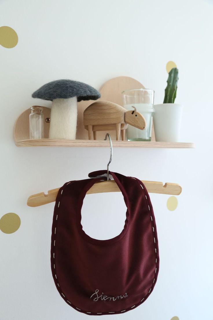 Bavoir collection Velvet Sienna