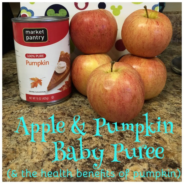 Apple & Pumpkin Baby Food Recipe and the amazing Health benefits of pumpkin for babies- Dazzling Mama