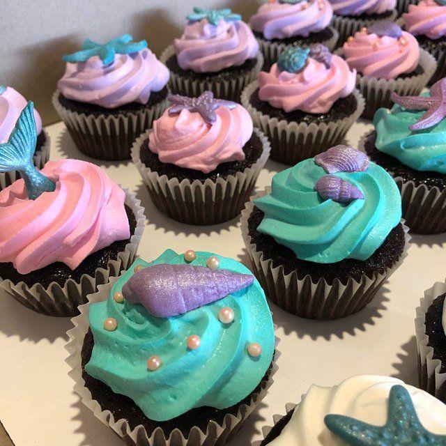 50 Edible Sugar Cake Decorations Shells Sea Stars Cake Cupcake