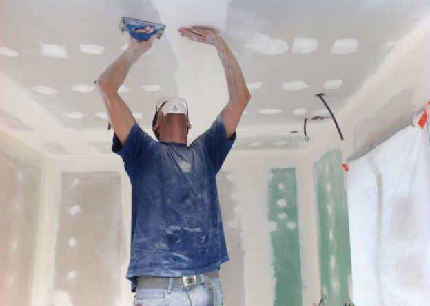 pose plafond placo