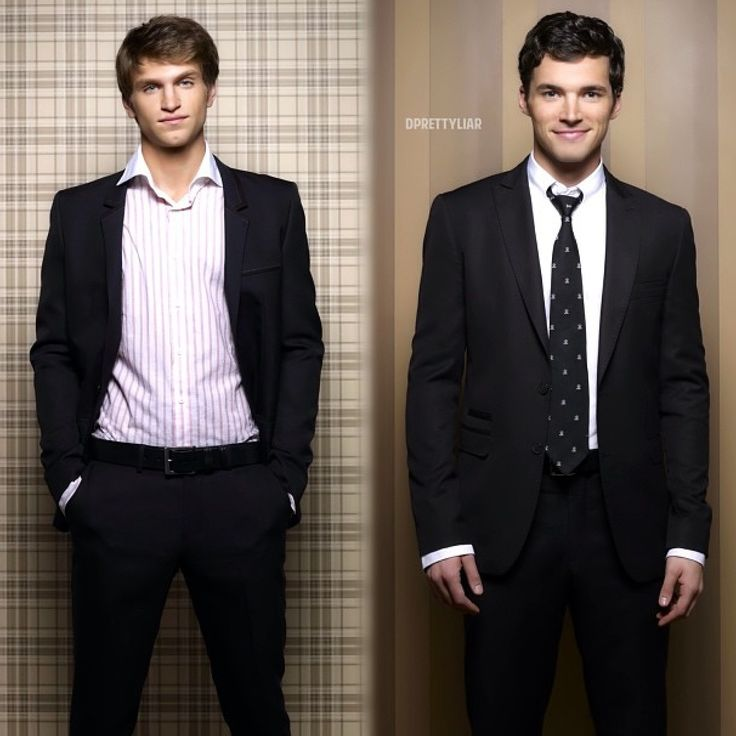 Toby Cavanaugh, Ezra Fitz | Keegan Allen, Ian Harding. My favorites