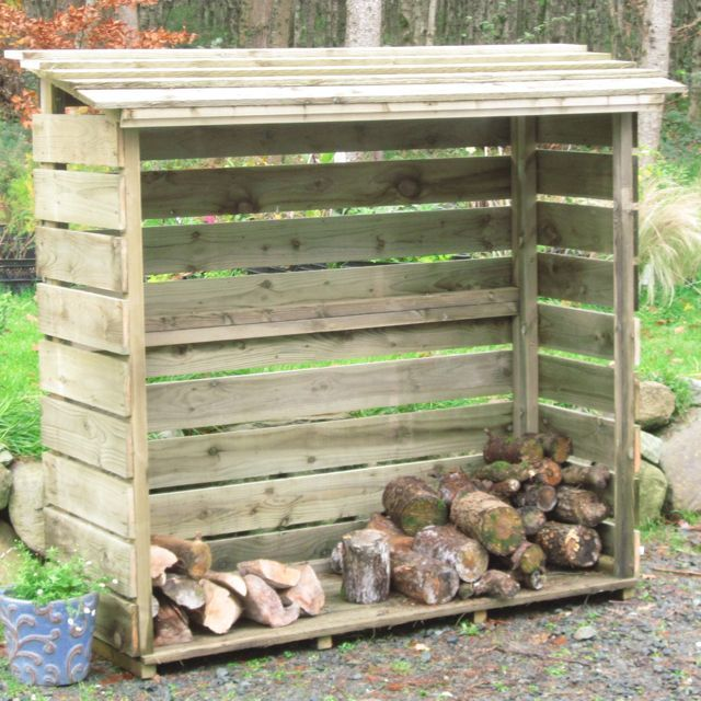 Firewood Rack Plans Outdoor Woodworking Projects Amp Plans