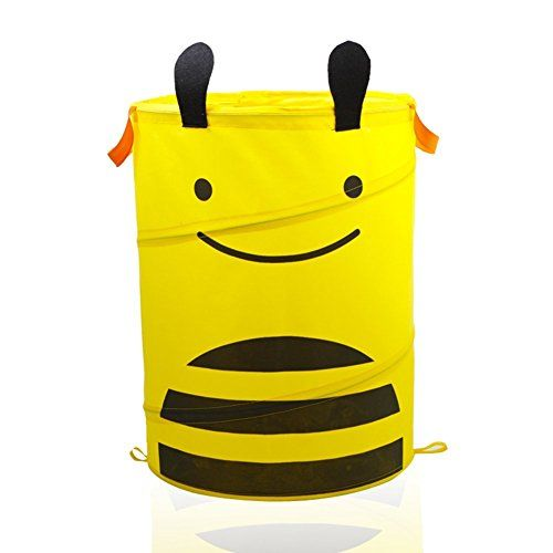 Kid's Lovely Cartoon Animal Folding Large Storage Bag Bucket Organizer Pop-up Laundry Hampers Dirty Clothes Basket Holder Baby's Accessories Toys Collection Bin&Box with Handles(Yellow Bee) Fakeface http://www.amazon.com/dp/B014J3E7QQ/ref=cm_sw_r_pi_dp_Z.t6vb05YMYXA
