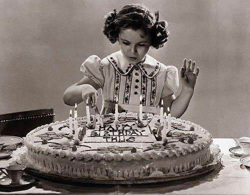 Vintage Rose Girl Happy Birthday Joyeux Anniversaire