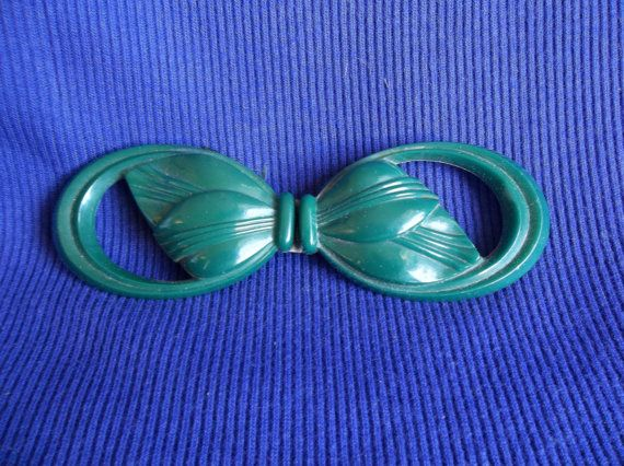 1930s belt buckle early plastic belt buckle by TheEnchantedCircle, $25.00