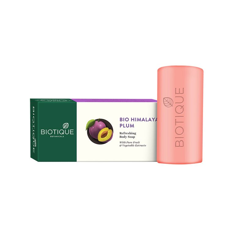 Biotique Himalayan Plum Body Cleanser Soap 150 gm