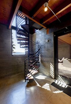 Coeur D'Alene Residence on Lake Coeur D'Alene - modern - staircase - other metro - Uptic Studios