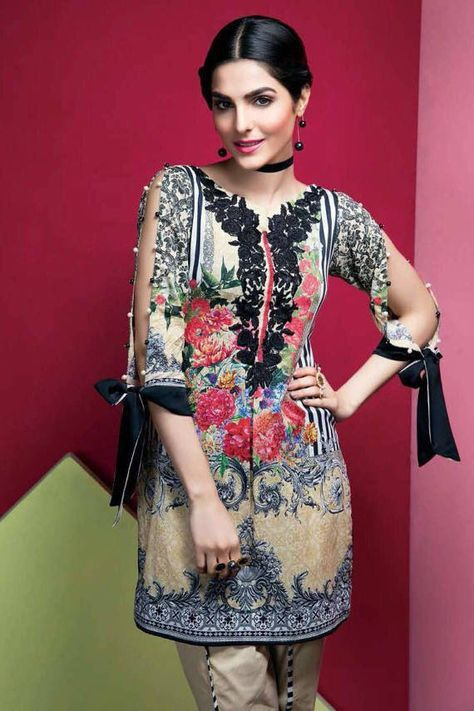 Gulal Embroidered Lawn 2017 lawn shalwar kameez by IrmaDesign