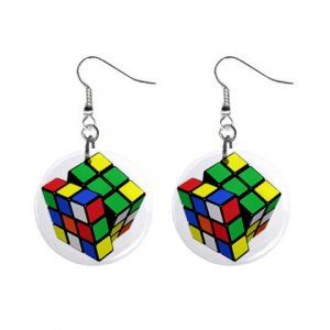 Rubix Cube earrings.   Find more cool earring ideas at www.crookedbrains.net  ~http://2.bp.blogspot.com/_NpINLHeo8rM/TKlL_zsbHtI/AAAAAAAA15k/ezz4ujAvAQw/s400/29.jpg