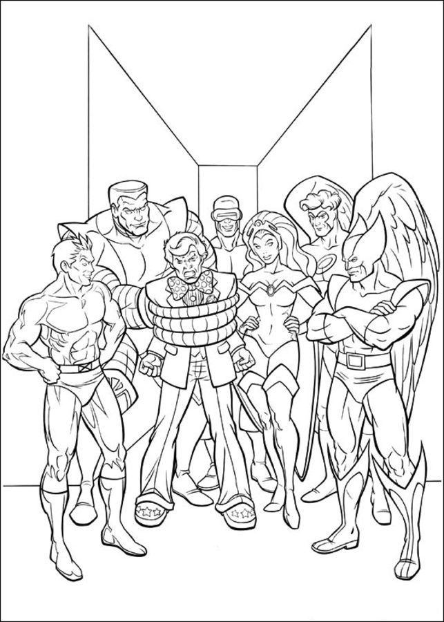Coloring Pages X Men Cartoons Coloring Pages Comics Marvel Coloring Books Coloring Pages Cartoon Coloring Pages