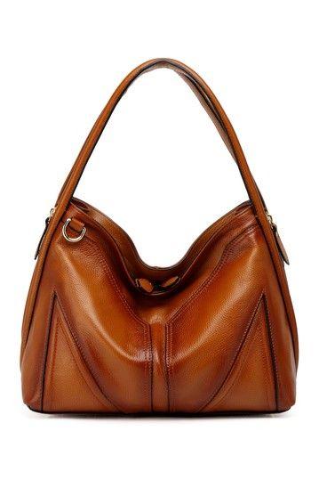 Ella Leather Hobo Handbag by Vicenzo Leather on @HauteLook
