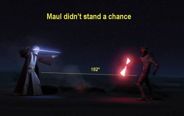 Yet again Obi-Wan has the high ground...