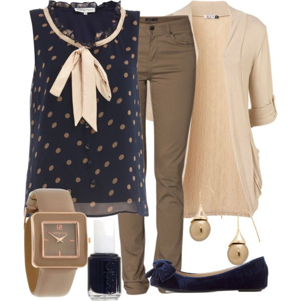 """Teacher Outfits on a Teacher's Budget 50"" by allij28 on Polyvore"