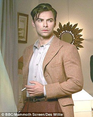 Aidan Turner in the new BBC adaptation of Agatha Christie's And Then There Were None
