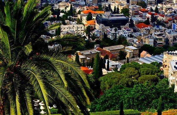 Haifa, Israel. Photo by Joan Khalaf