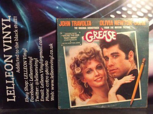 Grease Original Soundtrack LP Vinyl RSD2001 Pop Film 70's John Travolta Olivia Music:Records:Albums/ LPs:Soundtracks/ Themes:Film