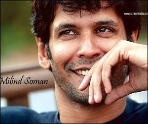 Milind Soman, Indian-Scottish actor, b. 1965, -very few can age gracefully as he does (n yet look hot as ever)