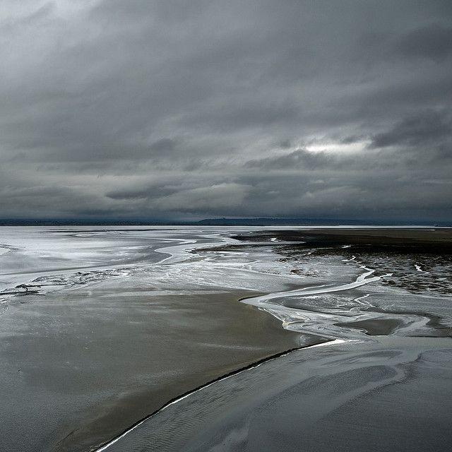Mont Sant Michel Bay, France by Julio López Saguar, via Flickr