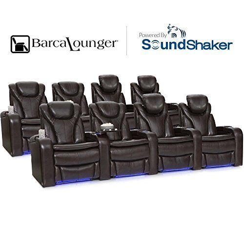 The Barcalounger Solaris home theater seat leads the way in stylish innovation. This seat's premium top grain leather finish affords the finest in lush texture, swank appearance, and long-lasting durability that only becomes more pliant with age. A special 'cool gel' interior is... more details available at https://furniture.bestselleroutlets.com/game-recreation-room-furniture/tv-media-furniture/home-theater-seating/product-review-for-barcalounger-solaris-leath