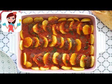 Fırında Patatesli Köfte (Videolu Tarif) | Kevserin Mutfağı - Yemek Tarifleri
