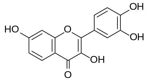 Skeletal formula of fisetin