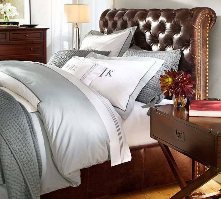 Bedroom Colour Ideas Brown Bedroom Decorating Ideas Brown Leather Bed Bedroom Decor Blue Bedroom Accent Wall Colors: 17 Best Ideas About Leather Bed On Pinterest