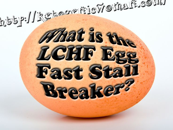 Have you heard about the egg diet weight loss fast? This is how I broke my four month stall on LCHF!