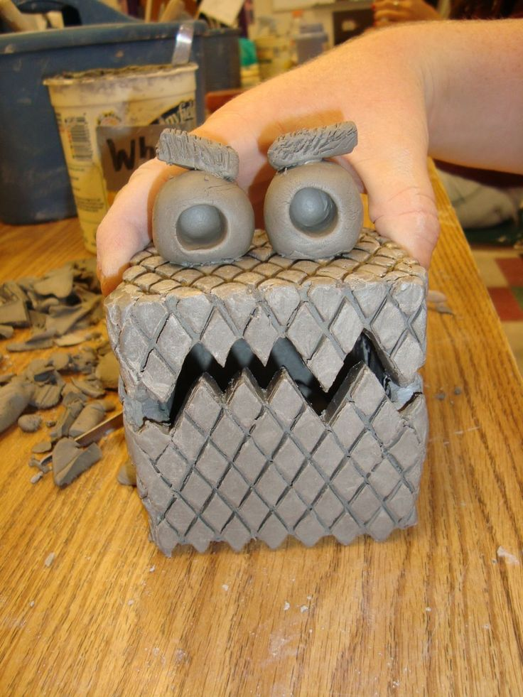 Fun inspiration for a creature box made by a Chapel Hill High School student.....cute idea for kids