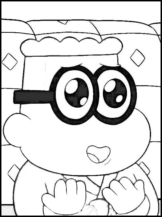 Big City Greens 39 Printable Coloring Pages For Kids Coloring Pages For Kids Dragon Ball Art Online Coloring Pages