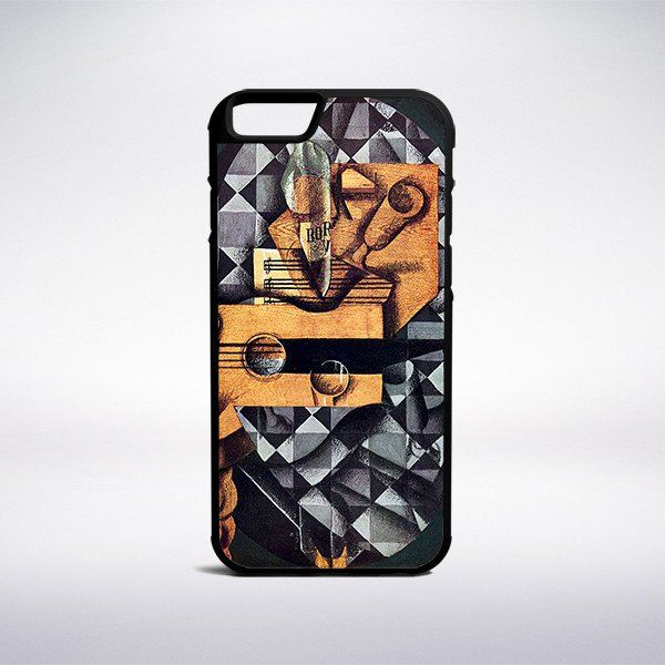 Juan Gris - Guitar, Bottle And Glass Phone Case – Muse Phone Cases