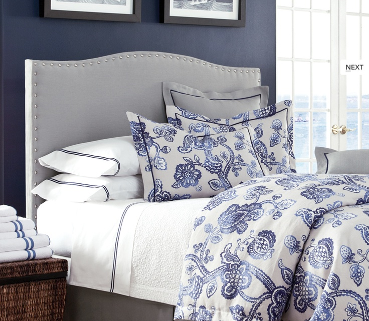 Best 25 Blue And White Bedding Ideas On Pinterest
