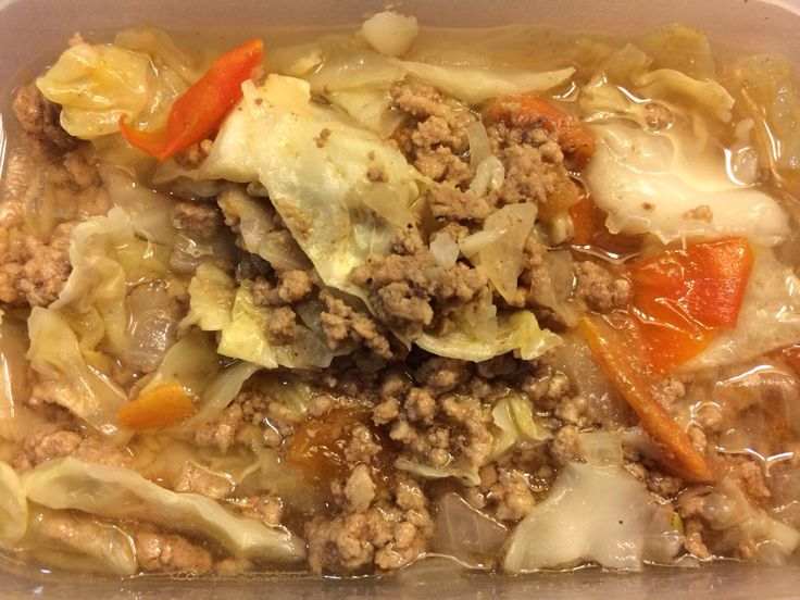 Cohen Diet: Minced Beef with tomatoes and cabbage #lynskitchen #cohenlifestyle