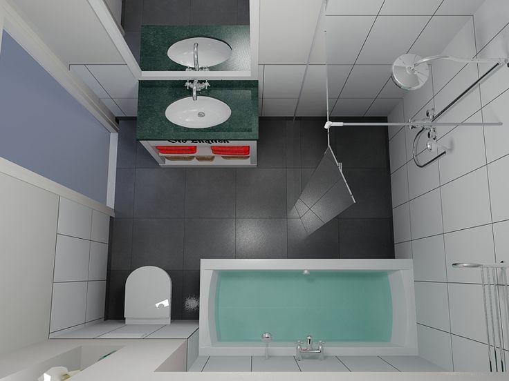 Landelijke badkamers overzicht bovenkant