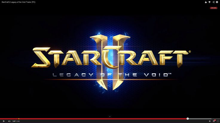 Would make a neat theme image. Starcraft 2: Legacy of the Void (Protoss expansion)