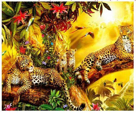 Goedkope familie luipaard wild dier schilderij diy kits vierkante strass diamant geplakt unfinish schilderij kamer decoratie ambachten geschenk 2015, koop Kwaliteit naaien gereedschap en accessoires rechtstreeks van Leveranciers van China:   Onderkant doek grootte: aboutcm, maat geleverd door de fabriek heeft een foutNoot: we allemaal diamant sch