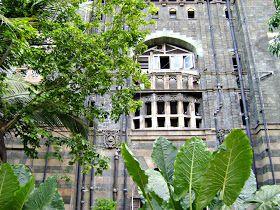 Mumbai India CST terminus a world heritage site
