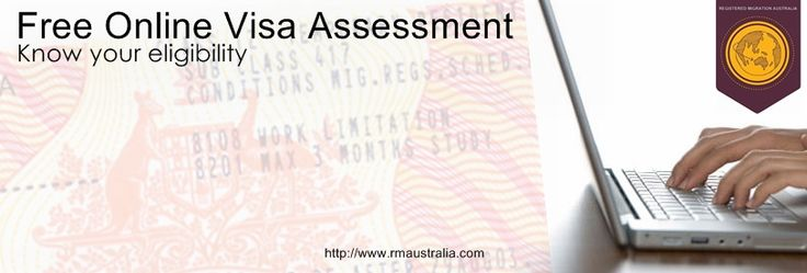 Apply today for your FREE Australian temporary or permanent visa with Registered Migration Australia by completing an online assessment.